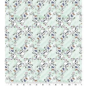 Twirling Olaf 100% Cotton Fabric